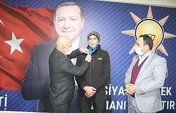 Yusufelili Recep Tayyip Erdoğan AK Parti üyesi oldu