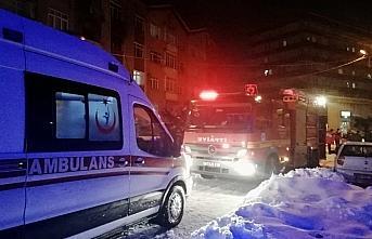 Zonguldak'ta apartmanda çıkan yangında 2 kişi yaralandı