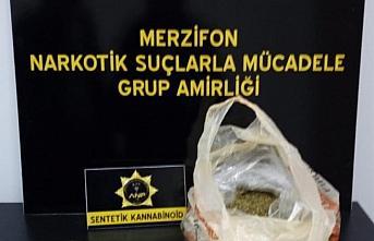 Amasya'da uyuşturucu operasyonunda 3 şüpheli yakalandı