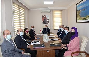 Bartın'da il encümen toplantısı yapıldı