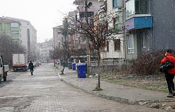 Bolu'da kar yağışı etkili oluyor
