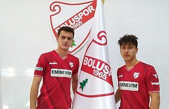 Boluspor altyapıdaki iki futbolcusuyla profesyonel sözleşme imzaladı