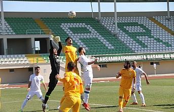 Çarşambaspor'dan 6 puanlık galibiyet