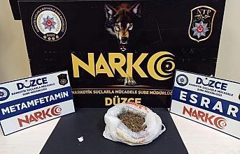 Düzce'deki uyuşturucu operasyonunda 1 kişi tutuklandı