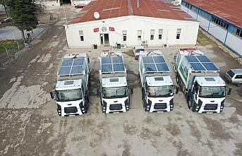 Erbaa Belediyesi hibrit kamyonlar ile yakıt tasarrufu...
