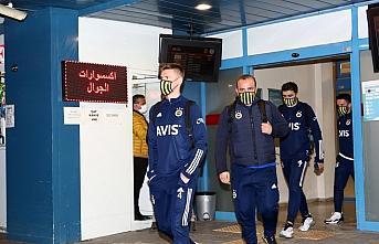 Fenerbahçe kafilesi, Trabzon'a geldi