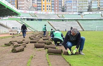 Giresun Atatürk Stadı spor müsabakalarına veda etti