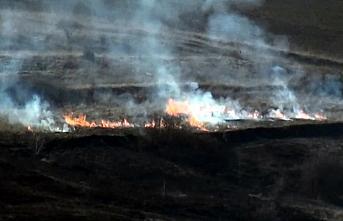 Karabük'te çıkan anız yangını söndürüldü