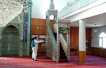 Niksar'da camiler dezenfekte edildi