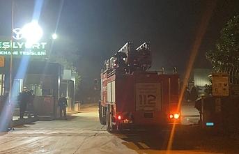 Samsun Yeşilyurt demir çelik fabrikasında yangın çıktı