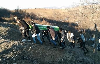 Samsun'da av sırasında arkadaşı tarafından kazara...