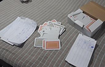 Samsun'da evde kumar oynayan 6 kişiye para cezası verildi