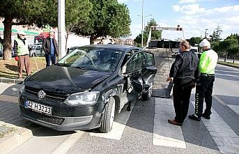 Samsun'da iki otomobil çarpıştı: 5 yaralı