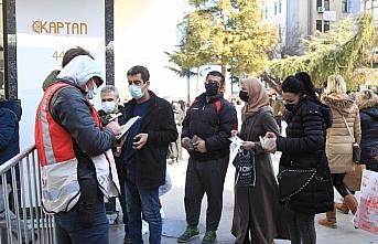 Samsun'da işlek caddelerde HES kodu uygulaması başlatıldı