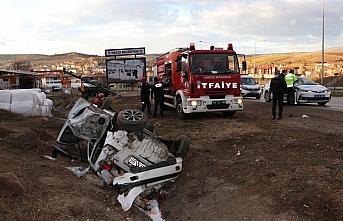 Samsun'da otomobil devrildi: 1 ölü, 3 yaralı
