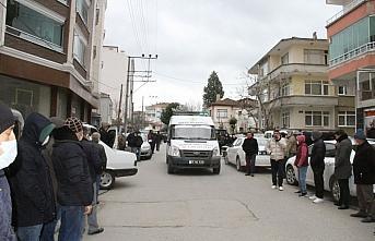 Samsun'daki kazada yaşamını yitiren kişinin cenazesi toprağa verildi