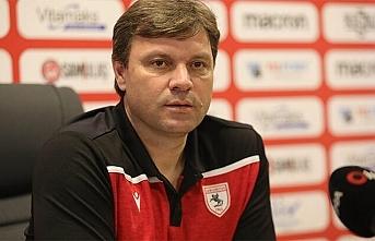 Samsunspor Teknik Direktörü Sağlam, Süper Lig için mart ayının sonunu işaret etti