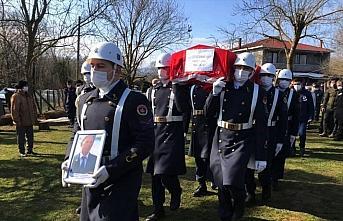 Sinop'ta yaşamını yitiren Kıbrıs gazisinin cenazesi...