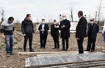 Terme'de 3,5 milyon liralık yatırımla istiridye mantarı kompost tesisi kuruluyor