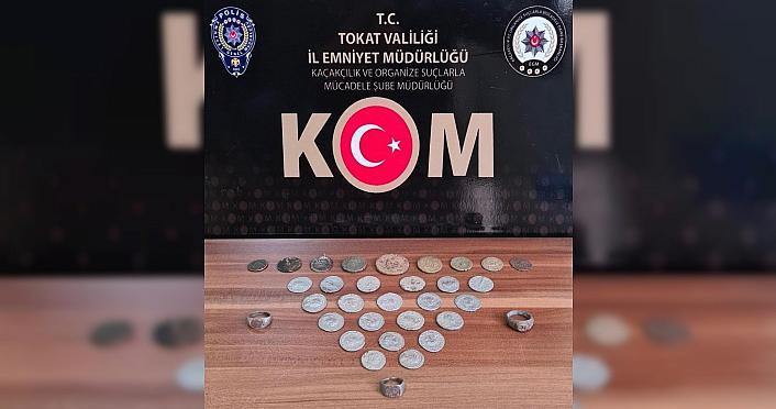 Tokat'ta tarihi eser operasyonunda 6 kişi yakalandı