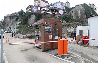 Trabzon'da gerçekleştirilen arkeolojik kazılarda Roma dönemine ait sur ve hendek duvarı bulundu
