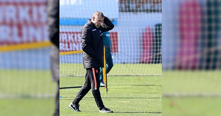 Trabzonspor, Gaziantep maçının hazırlıklarını sürdürdü