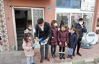 Yeşilyurt Ülkü Ocakları'ndan öğrencilere hediye tablet