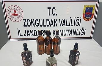 Zonguldak'ta kaçak içki operasyonu