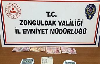 Zonguldak'ta kumar oynayan 6 kişiye 14 bin 557 lira...