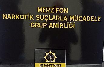 Amasya'da çorabın içine gizlenmiş uyuşturucu ele geçirildi