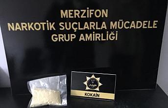Amasya'da uyuşturucu operasyonunda 2 kişi gözaltına alındı
