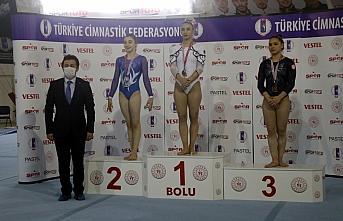 Artistik ve Trampolin Cimnastik Türkiye Şampiyonaları Bolu'da sona erdi