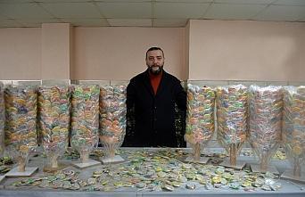 Bartın'da üretilen rengarenk sosyete şekerleri Avrupa'daki çocukların damağını tatlandırıyor