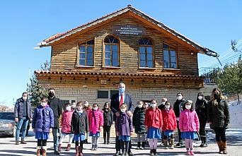 Bayburt'ta öğrenciler