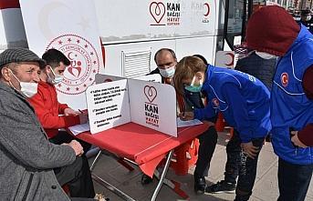 Boyabat ilçesinde kan bağışı kampanyası düzenlendi