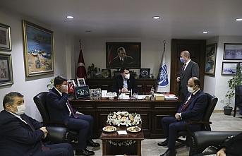 Çevre ve Şehircilik Bakanı Murat Kurum, Bartın'da Amasra ve Ulus Belediyesine ziyarette bulundu