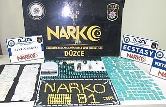 Düzce'de uyuşturucu operasyonunda 2 şüpheli tutuklandı