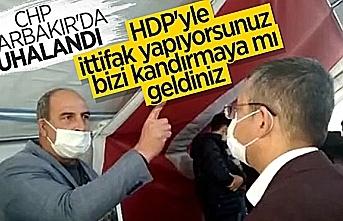 Evlat Nöbeti tutan ailelerden CHP'li heyete tepki