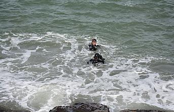 Giresun'da evinden ayrılan ve kendisinden haber alınamayan kadın denizde arandı