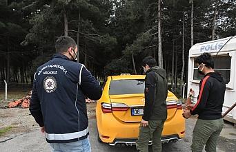 GÜNCELLEME - Samsun'da yurda yasa dışı yollarla giren 12 Afgan taksilerde ve otogarda yakalandı