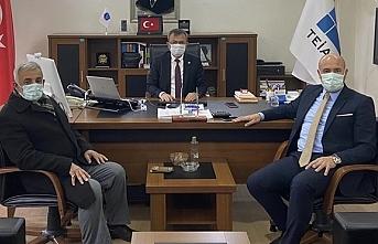 Hasan Togar, Tekkeköy'de TEİAŞ'ın yatırımları hakkında bilgi aldı