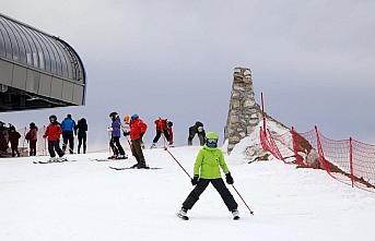 Ilgaz 2-Yurduntepe Kayak Merkezi'nde hafta sonu...