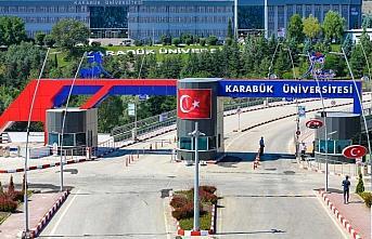 Karabük Üniversitesinde uygulamalı bölümlerde...