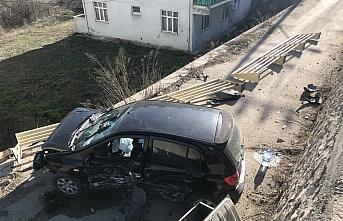 Karabük'te meydana gelen trafik kazasında üç kişi...