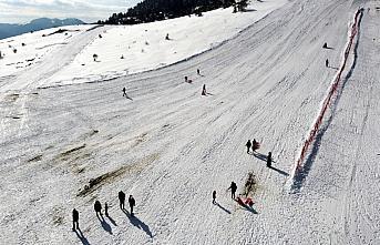 Keltepe, kayak tutkunlarının ilgisini çekiyor