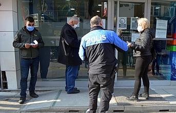 Merzifon'da Kovid-19 tedbirlerine uymayanlara 253 bin 800 lira ceza