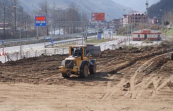 Ortahisar Belediyesinin yeni ek hizmet binası 4 ay...