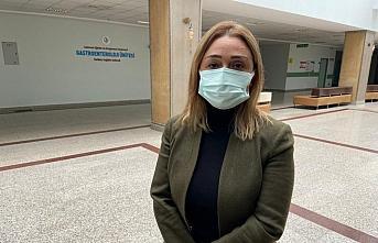 Samsun Baro Başkanı Yıldıran eski eşi tarafından darbedilen kadına hukuki destek vereceklerini bildirdi