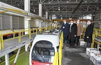 Samsun Büyükşehir Belediyesi tramvaylarda yerli...