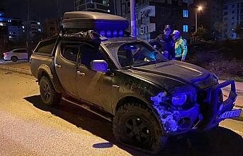 Samsun'da alkollü sürücü kaza yaptıktan sonra...